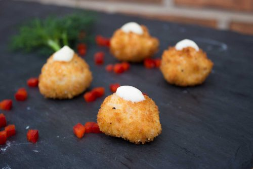 Chicken & Ham Spanish Croquettes