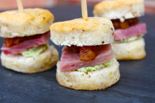 Country Ham Sliders