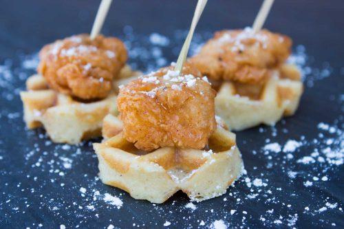 Mini Chicken & Waffles