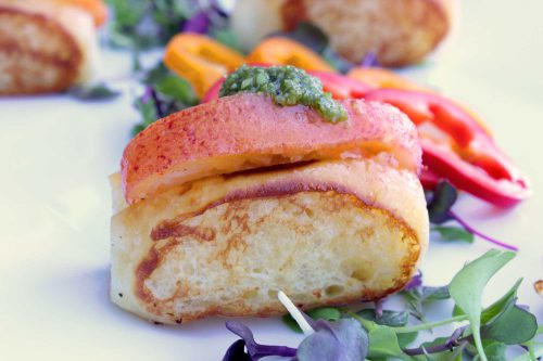 Butter Poached Lobster Rolls