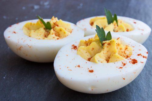 Smoked Paprika Deviled Eggs